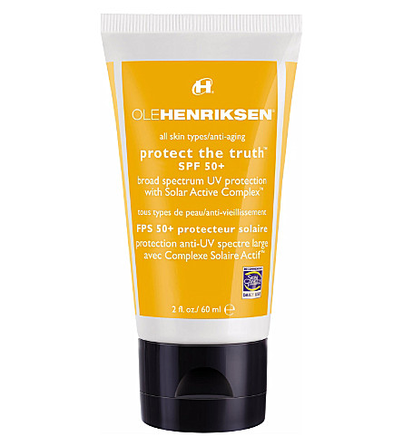 OLE HENRIKSEN Protect the truth™ SPF 50+ sunscreen 60ml