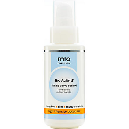 MIO The Activist firming active body oil 150ml