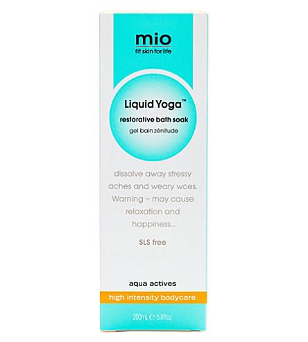 MIO Liquid Yoga restorative bath soak 200ml