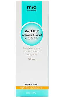 MIO Quickstart exhilarating shower gel 200ml
