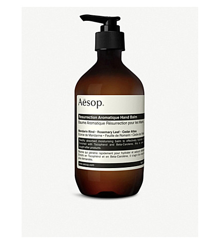 AESOP Resurrection Aromatique hand balm 500ml