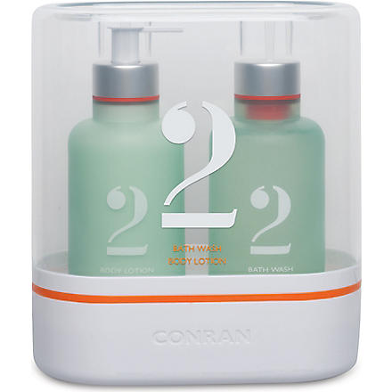 CONRAN Green Stems bath and body set 2