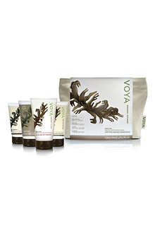 VOYA Organic Voyager travel set