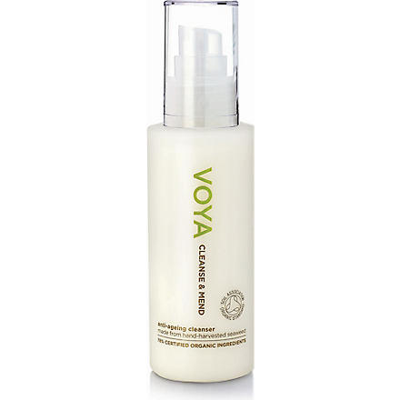 VOYA Cleanse and Mend anti–ageing cleanser 100ml