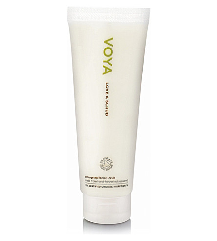 VOYA Love a Scrub anti–ageing exfoliator 125ml