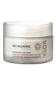 VOYA Get Glowing illuminating clay mask 50ml