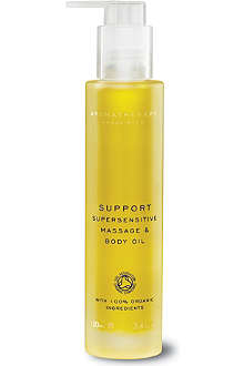 AROMATHERAPY ASSOCIATES Support super sensitive massage and body oil 100ml