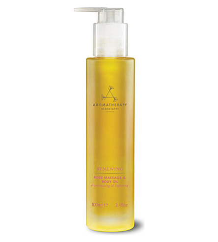 AROMATHERAPY ASSOCIATES Renewing Rose massage and body oil 100ml