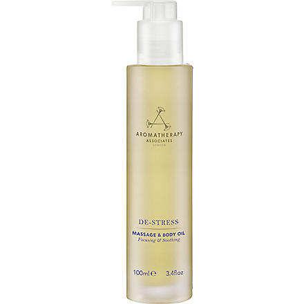 AROMATHERAPY ASSOCIATES De-stress massage & body oil 100ml