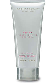 AROMATHERAPY ASSOCIATES Renew rose hydrating body gel 200ml