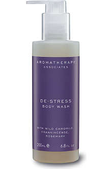 AROMATHERAPY ASSOCIATES De-stress body wash 200ml