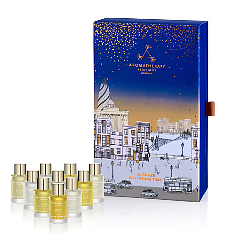 AROMATHERAPY ASSOCIATES Christmas Ultimate Wellbeing set of 10 oils