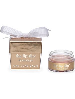 SARA HAPP The Lip Slip: one luxe balm