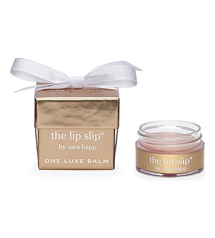 SARA HAPP The Lip Slip: one luxe balm