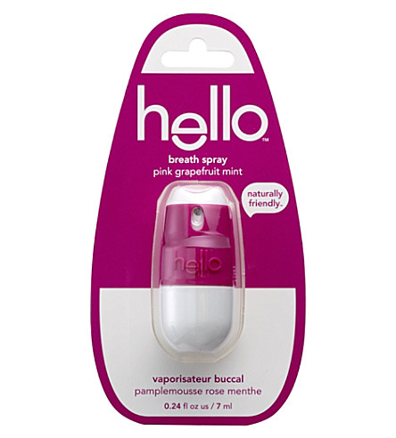 HELLO Pink Grapefruit breath spray