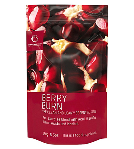 CLEAN & LEAN Berry Burn 150g