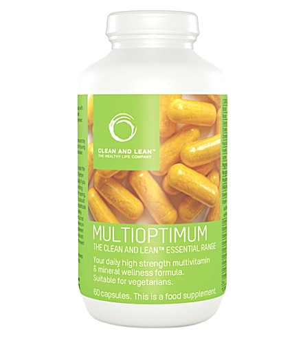 CLEAN & LEAN Multioptimum Food Supplements 60 tablets