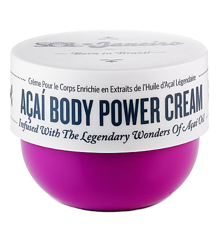 SOL DE JANEIRO Acai body power cream 75ml