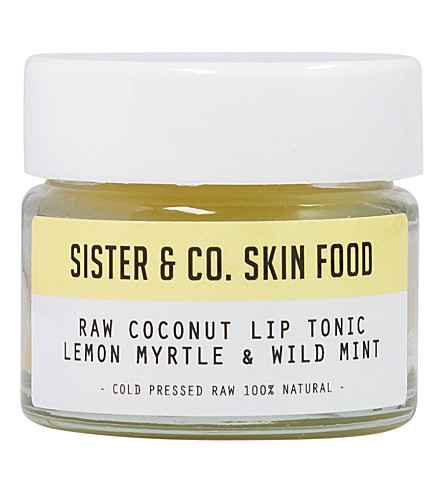 SISTER & CO Raw Coconut Lip Tonic Lemon Myrtle & Wild Mint