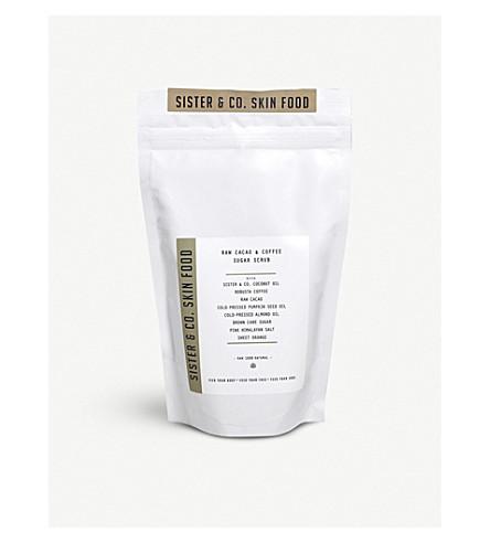 SISTER & CO Raw Cacao & Coffee Scrub 350g