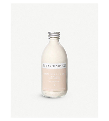 SISTER & CO Almond Milk Bath Soak 350g