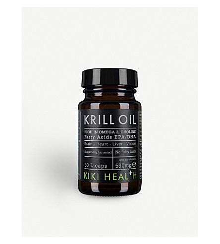 KIKI HEALTH Krill oil 30 licaps