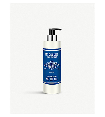 INSTITUT KARITE Shea body milk 200ml