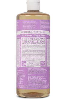 DR. BRONNER Organic Lavender castile liquid soap 237ml