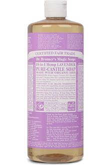 DR. BRONNER Organic Lavender castile liquid soap 946ml