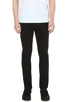 RICK OWENS DRKSHDW Detroit slim-fit tapered jeans