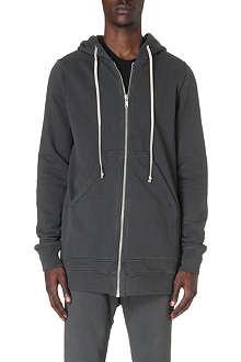 RICK OWENS Oversized cotton-jersey hoody