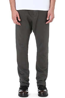 RICK OWENS DRKSHDW DRKSHDW Drop-crotch jogging bottoms