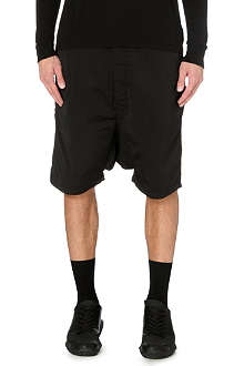 RICK OWENS Dropped-crotch shorts