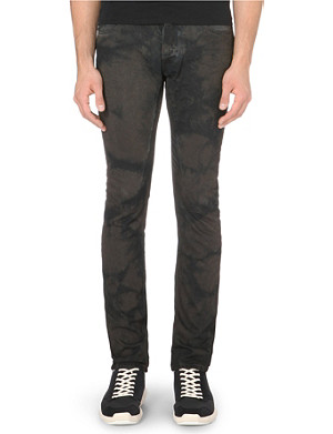 RICK OWENS DRKSHDW slim-fit faded denim jeans