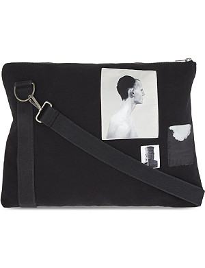 RICK OWENS DRKSHDW cross-body worker bag