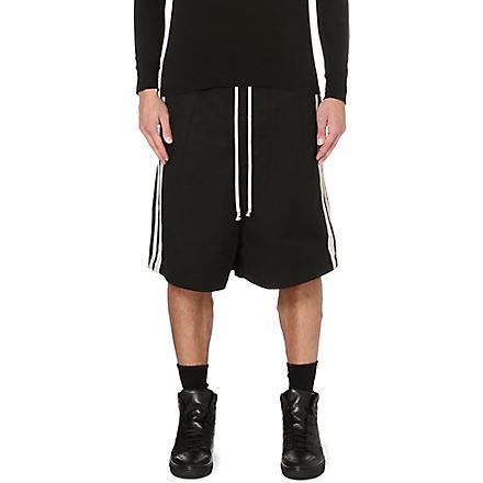RICK OWENS Sport striped short (Black/white