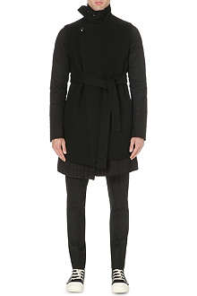 RICK OWENS Lined woolen coat
