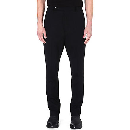 RICK OWENS Easy Astaires trousers (Black