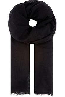 RICK OWENS Mega follo scarf