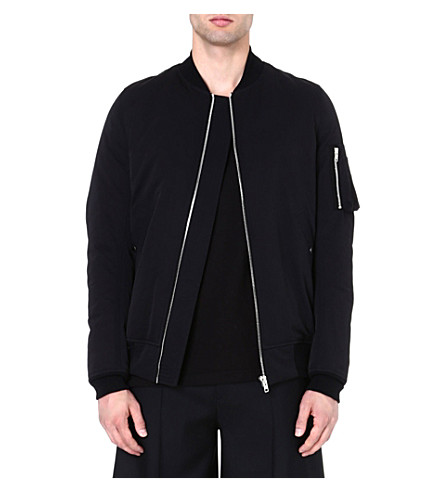 RICK OWENS Flight bomber jacket (Black