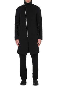RICK OWENS Quilted coat