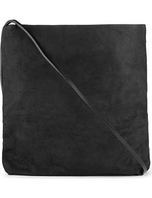 RICK OWENS Leather cross-body bag