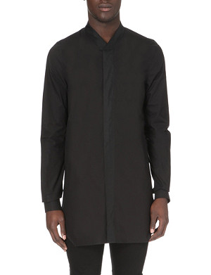 RICK OWENS Faun cotton shirt