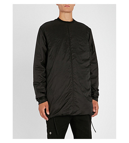 RICK OWENS Banana shell jacket (Black