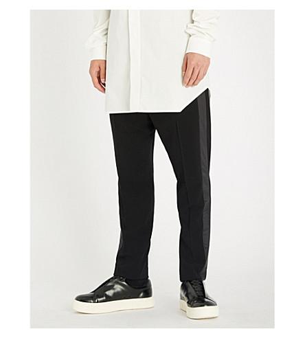RICK OWENS Astaires slim-fit wool trousers (Black