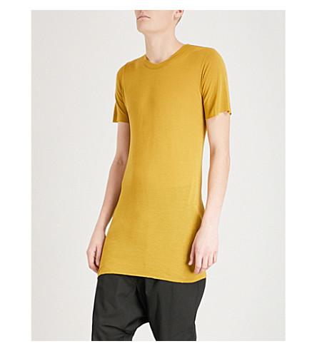 RICK OWENS Basic jersey T-shirt (Acid