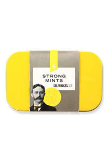 SELFRIDGES SELECTION Strong Mints tin 50g