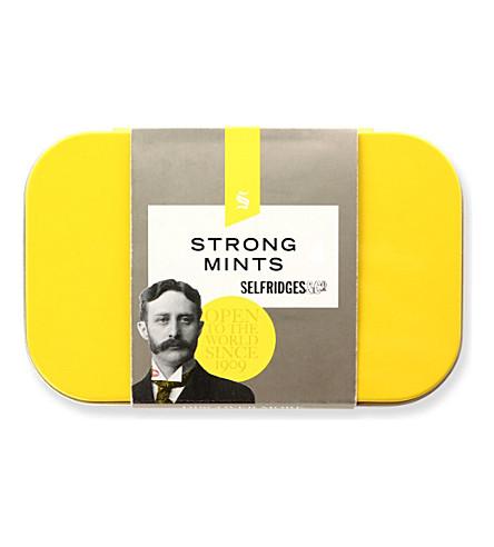 SELFRIDGES SELECTION Strong Mints tin 50g