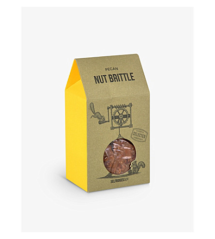 SELFRIDGES SELECTION Pecan nut brittle 175g