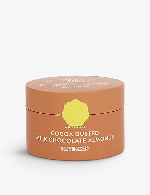 SELFRIDGES SELECTION Artisan milk chocolate caramelised almonds 325g